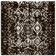 rug #1103470 | square brown borders rug