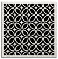 rug #110349 | square white circles rug