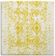 rug #1103494 | square yellow rug
