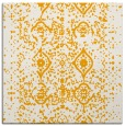 rug #1103522 | square light-orange popular rug
