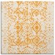 rug #1103534 | square light-orange faded rug