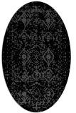 rug #1103547   oval faded rug