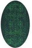 rug #1103608 | oval borders rug