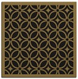 rug #110365 | square black circles rug