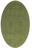 rug #1103669 | oval damask rug