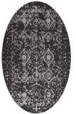 rug #1103730 | oval traditional rug