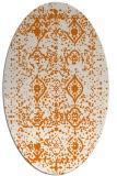 rug #1103746 | oval faded rug