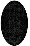 rug #1103828 | oval faded rug