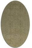 rug #1103878 | oval light-green borders rug