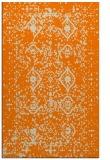 rug #1103906    orange damask rug