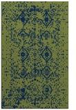 rug #1103950 |  blue damask rug