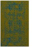 rug #1103986    green traditional rug