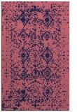 rug #1104002    blue-violet borders rug