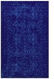 rug #1104010 |  blue-violet faded rug