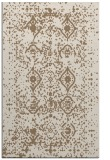 rug #1104062 |  mid-brown damask rug