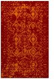 rug #1104110 |  orange damask rug