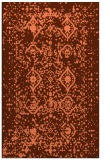 rug #1104122 |  orange faded rug