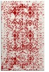 rug #1104158    red faded rug
