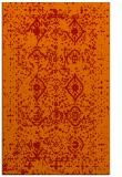 rug #1104162 |  orange damask rug