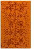 rug #1104174 |  red-orange borders rug
