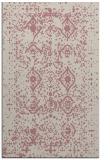 rug #1104262 |  pink traditional rug