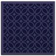 rug #110429 | square blue-violet borders rug