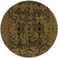 rug #1104294 | round black faded rug