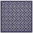 rug #110433 | square blue-violet borders rug