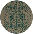 rug #1104392 | round faded rug