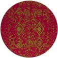 rug #1104400 | round faded rug