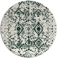rug #1104412 | round faded rug