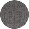 rug #1104426 | round brown rug