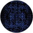 rug #1104474 | round black borders rug