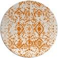 rug #1104482 | round orange popular rug