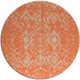 rug #1104487 | round traditional rug