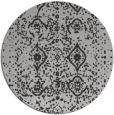 rug #1104490 | round red-orange borders rug