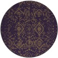 rug #1104519 | round faded rug
