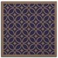 rug #110453 | square beige circles rug