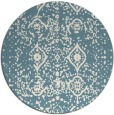 rug #1104582 | round faded rug