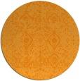 rug #1104634 | round light-orange faded rug