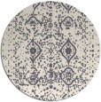 rug #1104640 | round faded rug
