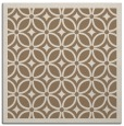 rug #110497 | square mid-brown circles rug
