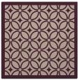 rug #110501 | square pink circles rug