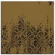 rug #1105030 | square mid-brown damask rug