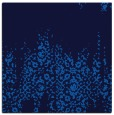 rug #1105042 | square blue damask rug