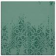rug #1105066 | square blue-green damask rug