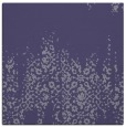 rug #1105102 | square blue-violet damask rug