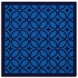 rug #110513 | square blue geometry rug