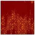 rug #1105214 | square orange damask rug