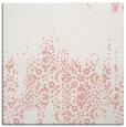 rug #1105242 | square pink traditional rug